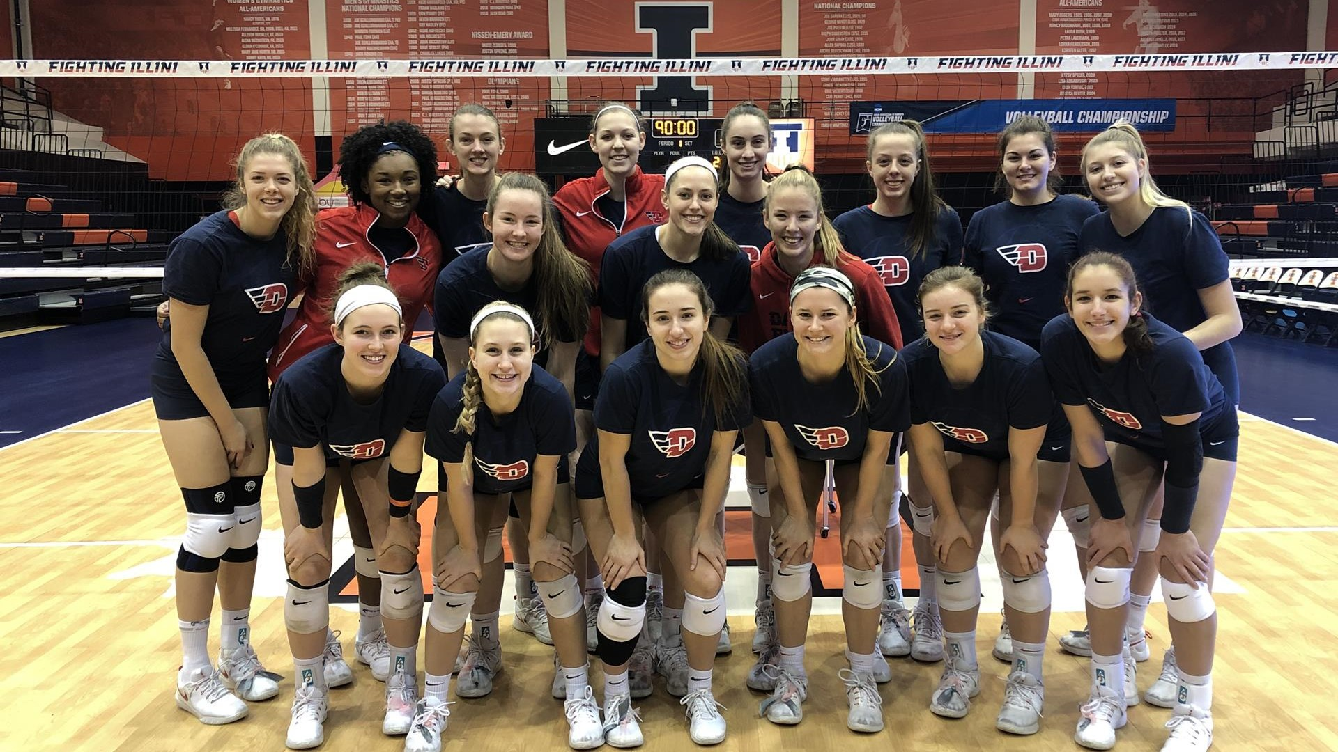 Udvb Squaring Off Against Louisville In Ncaavb First Round University Of Dayton Athletics
