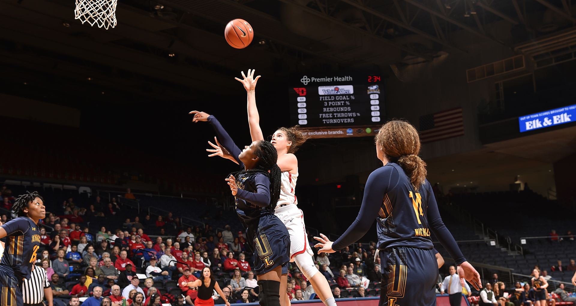 7a73e2505db UDWBB Hosts La Salle Tuesday In A-10 First Round - University of ...